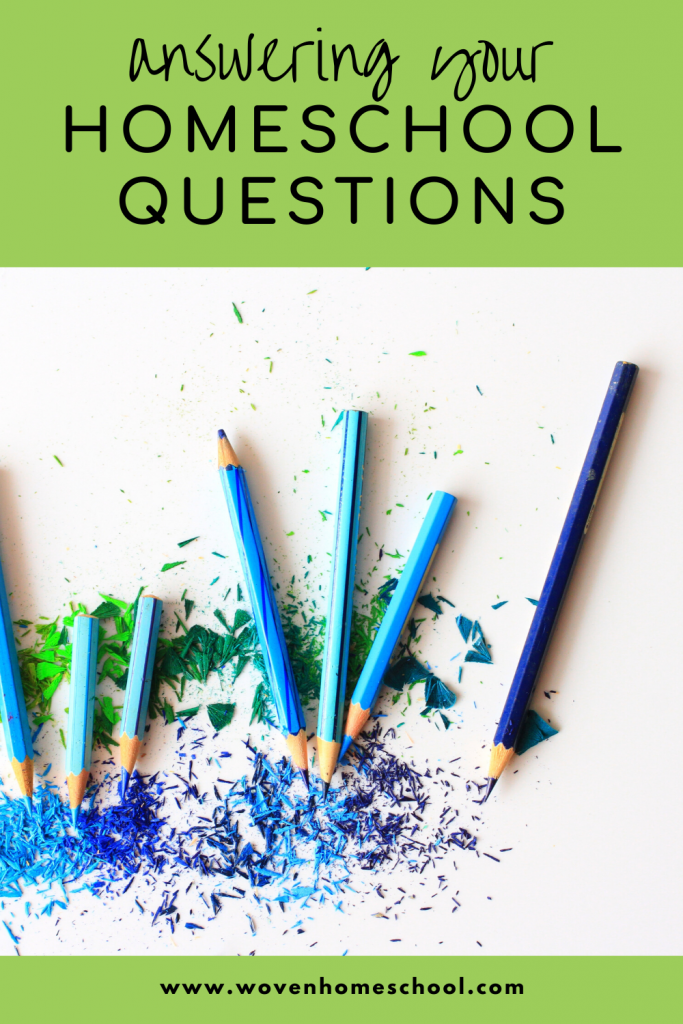 Answering your most common homeschool questions