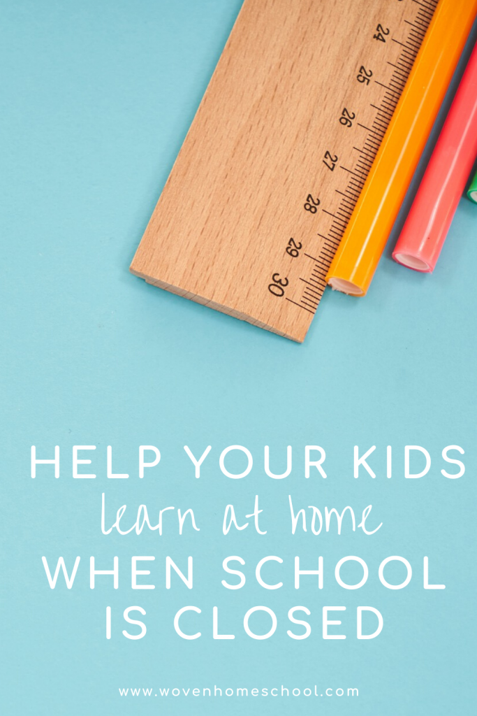 What you actually need to homeschool during school closures. (Hint: It's not a perfect lesson or a rigid schedule.)