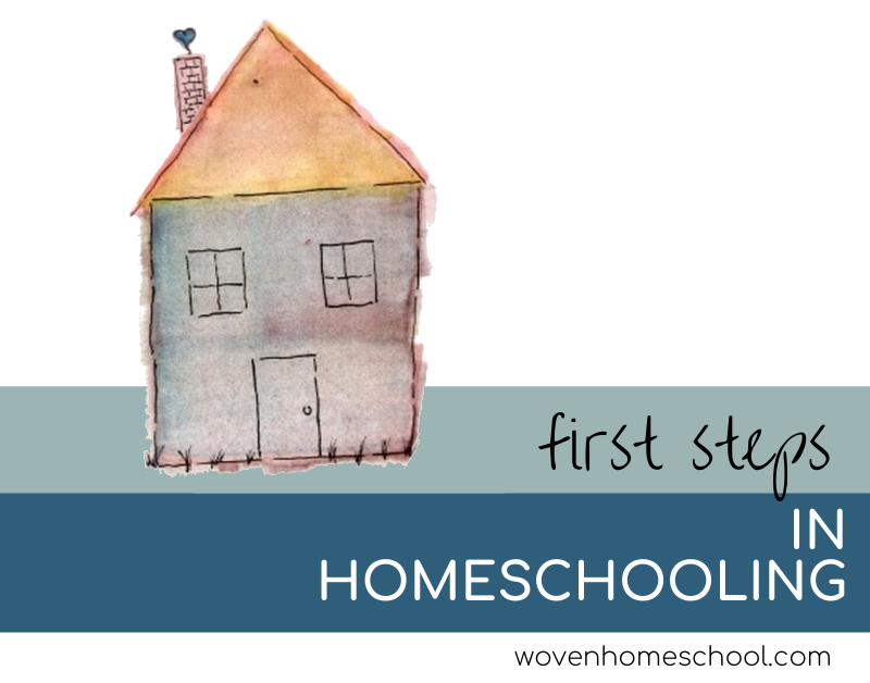 First Steps in Homeschooling
